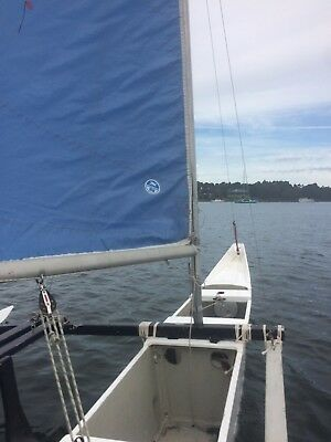Sailing Outrigger (16 or 24ft configuration) with custom registered trailer