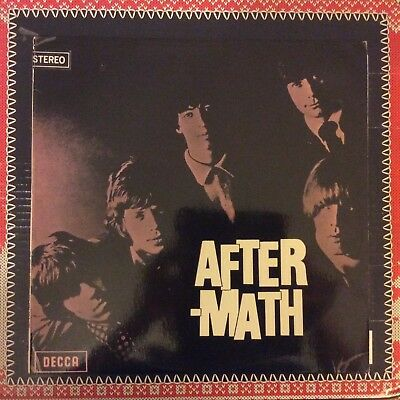 The Rolling Stones - After-Math Lp 1966 1St Press Ex/ex Stereo Skla4786