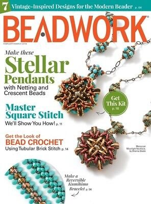 Beadwork Magazine February / March 2018
