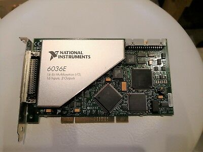 National Instruments NI PCI 6036E