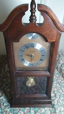 Boluva Tempus Fugit western wall clock with chime Made in  Japan Free Shipping