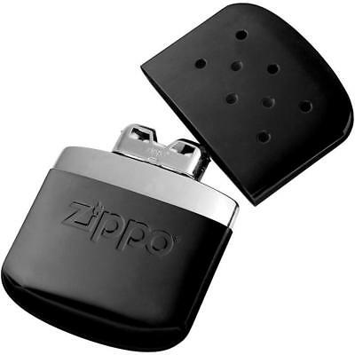 Zippo BLACK Refillable Deluxe Hand Warmer w/ Pouch 40285 40310 40334 12 hour