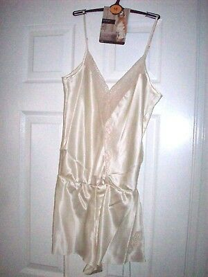 Marks & Spencer Rosie For Autograph 10 Silk & French Designed Lace Teddy Reduced