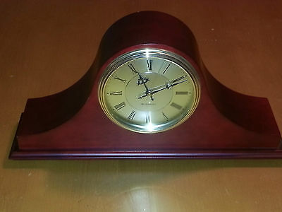 Westminster Chime Wooden Mantel/Desk Clock - Quartz Movement and Chimes