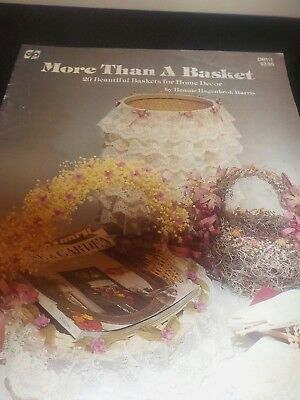 More Than A Basket 20 Beautiful Designs For Home Decor Moss Dried Flowers Lace