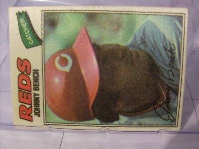 1977 Topps Baseball Cloth Stickers Singles   YOU PICK