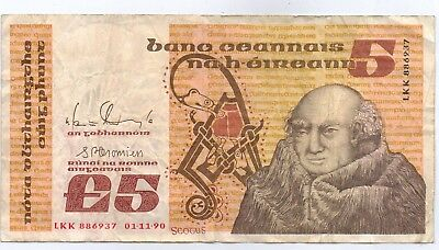 Ireland - 5 Pounds 1990 Scouts Banknote (Circulated) LKK886937