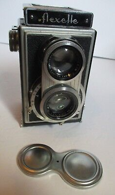 Vintage Flexette TLR 120 Camera (1939) Camera by Optikotechna Prerov