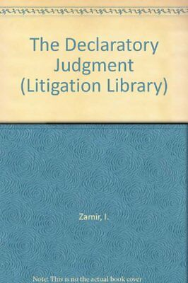 The Declaratory Judgment (Litigation Library) by Woolf, Lord Jeremy Book Book