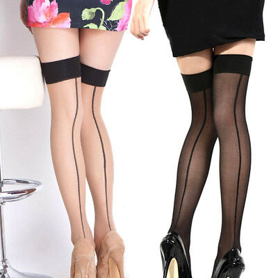 Summer Womens Thigh High Stocking Over The knee Socks Hosiery Stay Up Stockings