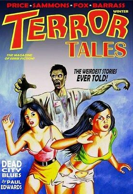 128 TERROR TALES #1Rainfall chapbook. Tales of horror and the supernatural