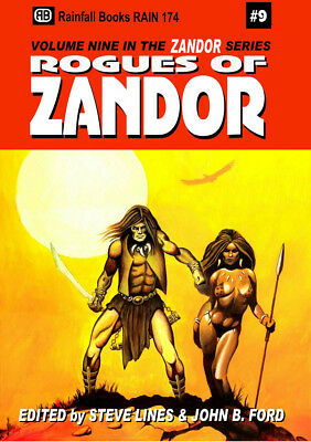 166 ROGUES OF ZANDOR Rainfall Chapbook. #8 in a series S&S/Fantasy