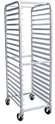 20 Tier Bun Pan Sheet Rack With Wheels | Commercial Kitchen | Heavy Duty | NSF