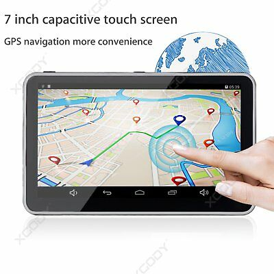"7"" Full HD 1080P Vehicle Auto Kamera DVR Dashcam Recorder Camera GPS Navigation"