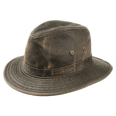 5c1a1eec Stetson Ava Waxed Cotton Traveller Men Hats cotton hat summer hats