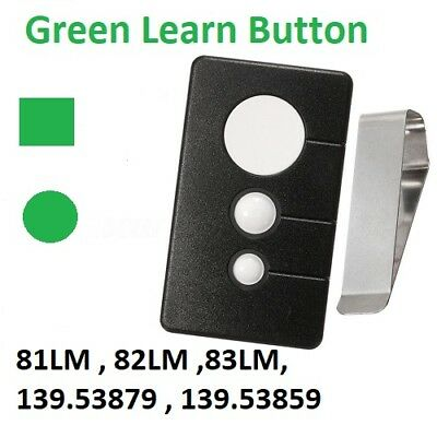 1 For Sears Liftmaster Chamberlain Craftsman 81LM Compatible Garage Door Remote
