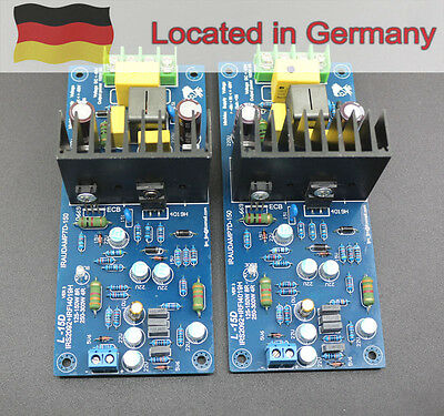 One pair Assembled L15D Power Amplifier board IRFI4019H AMP 150W +150W 8ohm   GE