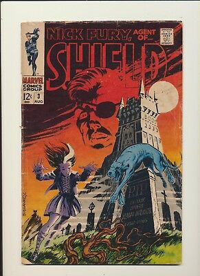 Nick Fury Agent of Shield #3! Marvel 1968! Steranko! SEE PICS AND SCANS! WOW!