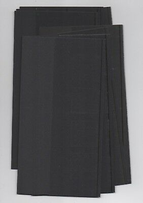 BLACK SLEEVES INSERTS x10 Royal Mail LARGE SIZE for 1982 -NOW PRESENTATION PACKS