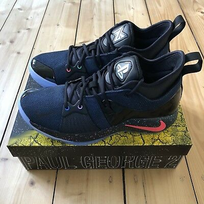 competitive price 75338 aeb4b NIKE PG2 PS4 Play Station PG 2 Paul George US 10,5 44,5 Lab Supreme off  white