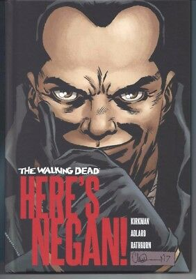 WALKING DEAD HERE'S NEGAN HC - see description - new and unread