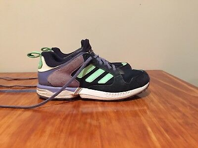 finest selection b7445 a6e62 Adidas Originals ZX 5000 RSPN Damen Sneakers Navy Light Green Purple Womens  Sz 7
