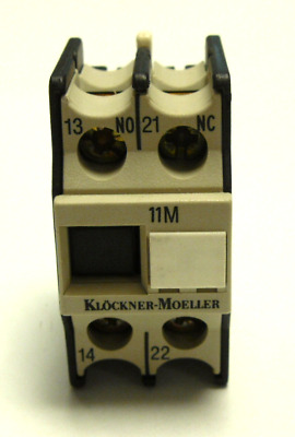New Klockner-Moeller 11-Dil-M Contact Module Block *qty*