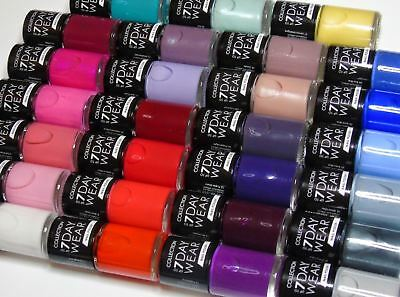 Collection Work The Colour Nail Polish  Nail Varnish  Colour Choices FREE P&P