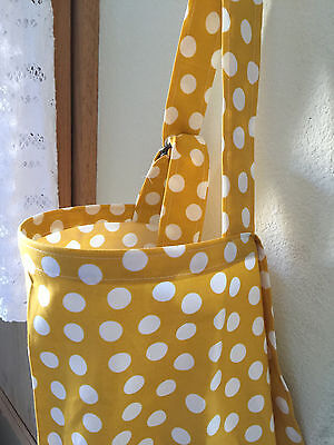 breastfeeding cover up nursing cover privacy apron  XL DOTS mustard