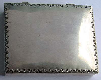 Frank Patania Large Vintage Stamped Sterling Silver Box