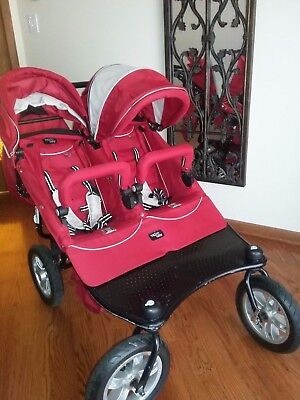 Valco double and single strollers