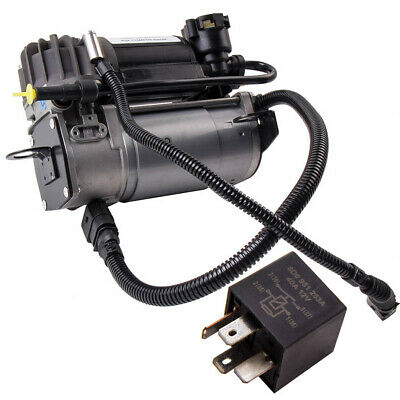 4Z7616007A For Audi A6 C5 4B Allroad Air Suspension Compresor Pump with RELAY