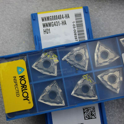 10pcs Superior quality WNMG080404-HA H01 WNMG431-HA H01 Used for Aluminum