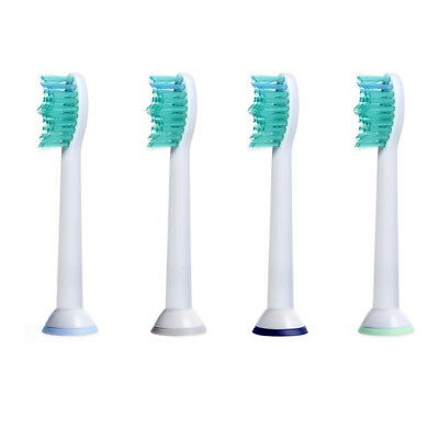 4pcs Electric Toothbrush Heads Fits for Philips Sonicare P-HX-6014/HX6014