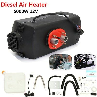 5000W 12V Air diesel Parking Heater 5KW For Trucks Motor-Homes Car Bus Boats