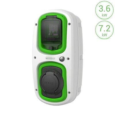 Electric Car / EV Charging station Wallpod : 32 amp(7.2kW) | Type 2 socket |
