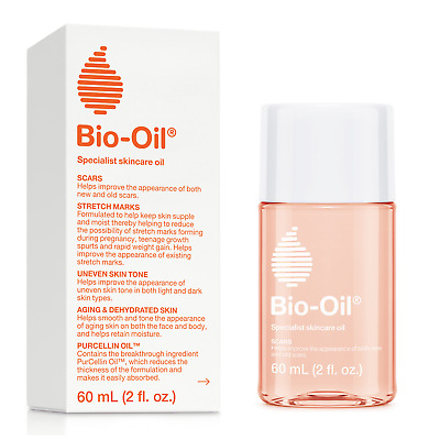 Pack of 4 Bio-Oil for Scars Stretch Marks Uneven Skin Tone Anti Ageing Skincare