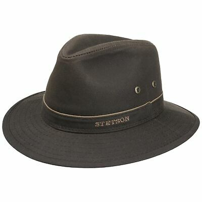 a9f5873b Stetson Avasun Waxed Cotton Traveller Women Men Hats cloth hat hats