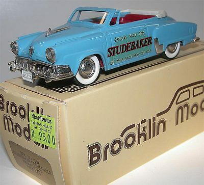 Brooklin Models BRK 17x, 1952 Studebaker Commander Indianapolis Pace Car, 1:43