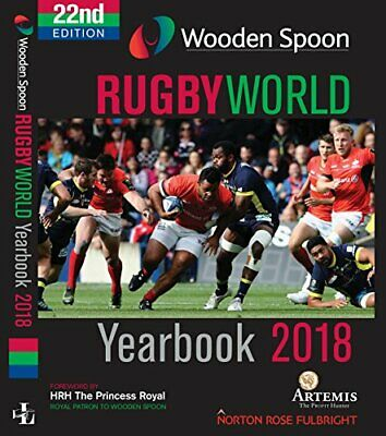 Rugby World Yearbook 2018 by Ian Robertson Book The Cheap Fast Free Post