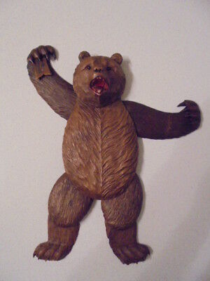 Unusual Black Forest Articulated Bear