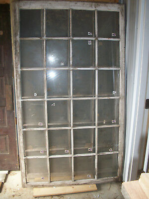 Vintage antique 24 pane greenhouse sash window