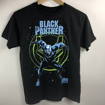 Kids Boy's Marvel Comics Avengers Black Panther T- Shirt  Size: M, L