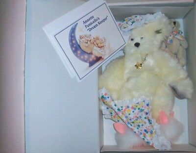 Annette Funicello Bluey His Chewy Bean Bag Series Limited Edition Extremely Rare Annette Funicello Bears