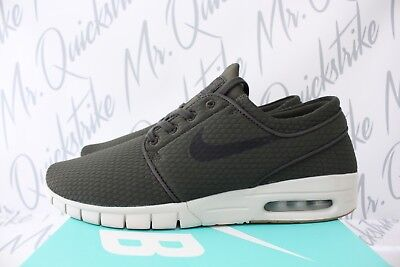 cd051397f1 NIKE SB STEFAN Janoski Max Sz 10.5 Sequoia Gum Brown Light Bone Black  631303 302