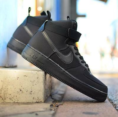 size 40 ad15d 0f0dc nike Air Force 1 High  07 CANVAS PACK BLACK US MENS SHOE SIZES AH6768-
