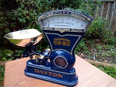 We Custom Restore Antique Dayton Candy Scale For You.