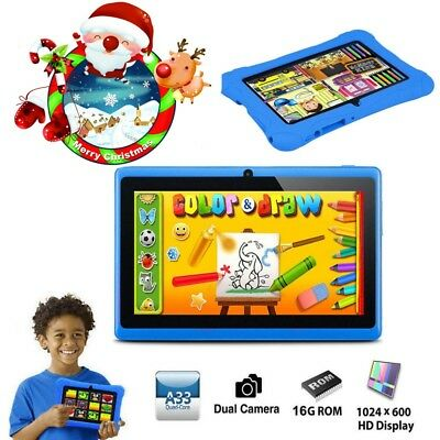 7'' inch Quad Core HD Tablet for Kids Dual Camera WiFi Child PC Children's Gift