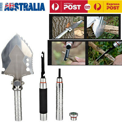Military Multifunction Spade Outdoor Camping Self-defense Survival Tool AU