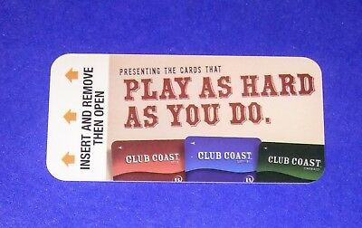 The Orleans Hotel Casino Las Vegas 'Play As Hard As You Do'  Room Key Card